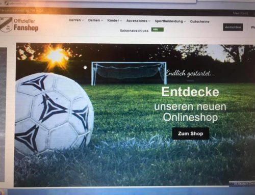 Ab sofort am Start: Unser neuer Onlineshop