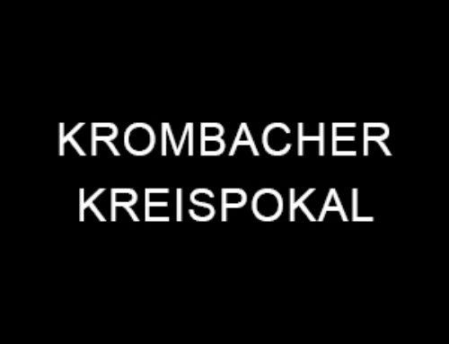 Krombacher Kreispokal Runde 1: Sieg in Nörde