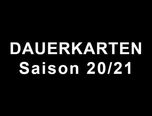 Dauerkarten Saison 2020/2021