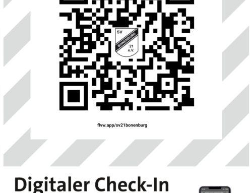 Digitaler Zuschauer Check-in für die Heimspiele!